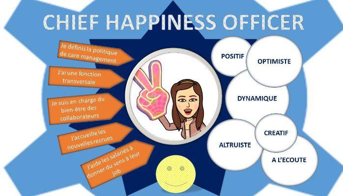 Bien-être en entreprise, le chief happiness officer