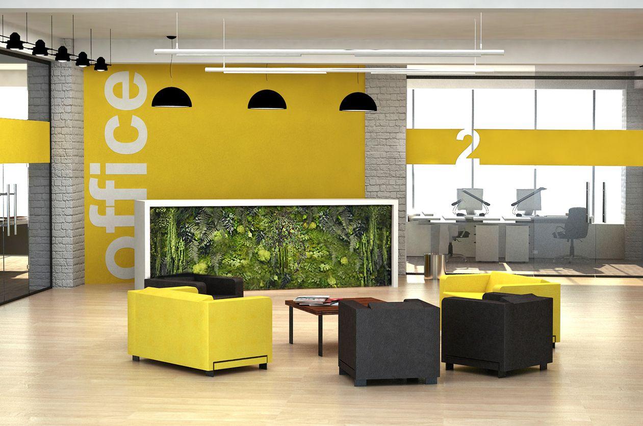 Le bien-être en entreprise, décoration espace de travail, et végétaux